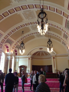 One of the city hall function rooms