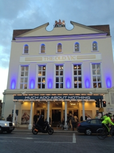 """Much Ado About Nothing"" at the Old Vic."