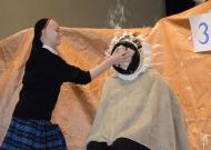 An Immaculate Conception School student pies a teacher as a reward for memorizing the digits of Pi. (Cecil Whig)